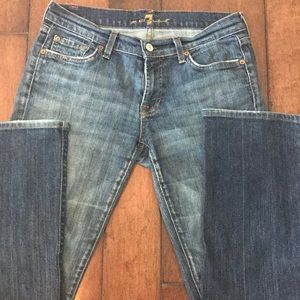 Women's stretch bootcut jeans